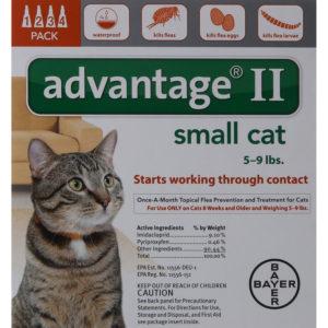 ADVANTAGE II CAT 5-9 LB ORANGE 4/PK