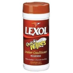 Lexol Leather Cleaner Quick Wipes Canister