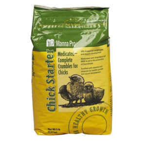 Chick Starter Medicated 5lb bag 6/cs