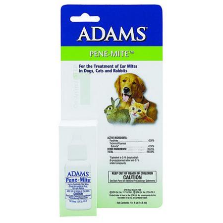 Adams Ear Mite Treatment 0.5 oz.