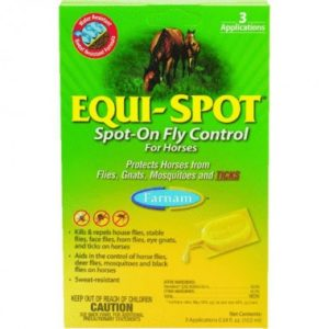 Equi-Spot Spot-On Fly Control for Horses
