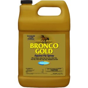 Bronco Gold Equine Fly Spray Refill 1 gal