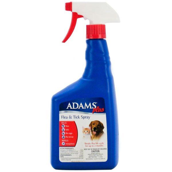 ADAMS PLUS F&T SPRAY 32OZ