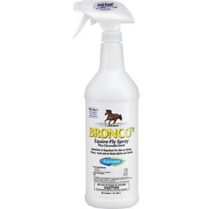 Bronco e Equine Fly Spray w/sprayer 32 oz