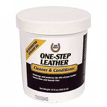 1-Step Formula Leather Cleaner&Conditioner 15 oz