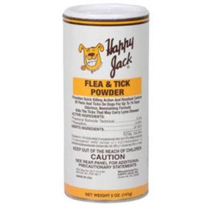 Happy Jack Flea & Tick Powder 5oz