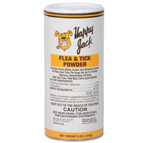 Happy Jack Flea & Tick Powder 5oz