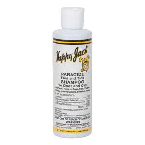 Happy Jack Paracide Flea & Tick Shampoo 8oz