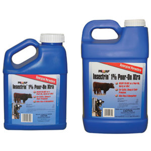 PROZAP INSECTRIN 1% POUR-ON XTRA 2 1/2 GAL