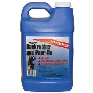 PROZAP BACKRUBBER / POUR-ON 2 1/2 GAL