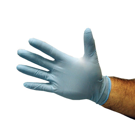 Glove Blue Nitrile L 10pk