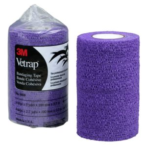 3M VETRAP 4 IN X 5 YD/ROLL PURPLE