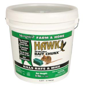 HAWK CHUNX 1 OZ/CHUNK 9 LB/PL 2/CS