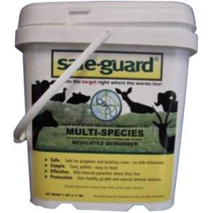 Safe-guard 0.5% Multi-Species Pellets 5 lb Pouch