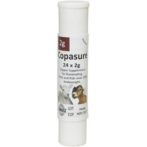 Copasure 2g Capsule Copper Supp. Sheep/Goat 24ct