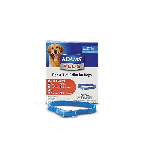 Adams Plus Flea &Tick Collar Large Dog