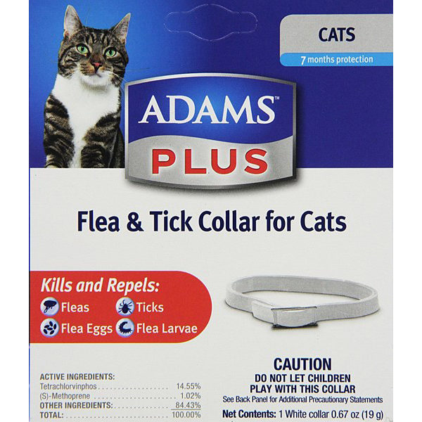 Adams Plus Flea &Tick Collar for Cats
