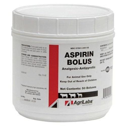 Aspirin Boluses 240gm 50/jar
