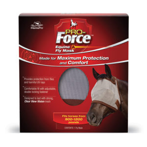 Manna Pro Pro-Force Fly Mask 12/Cs