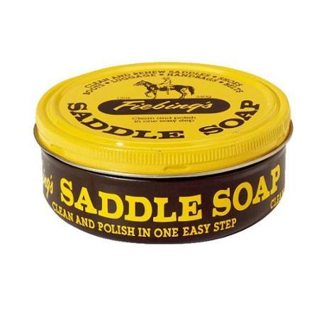 SADDLE SOAP PASTE 12 OZ TIN 12/CS