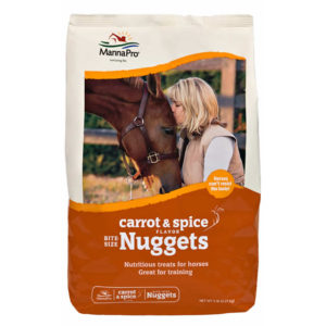 Manna Pro Bite Size Carrot & Spice Nuggets 4lb